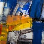"""06/12"",2012,Kunstharz u.Öl,140/100cm"