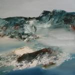 Die neue Welt, 2012, Öl/Lw, 60 x 60 cm