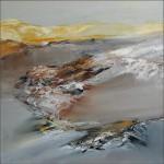 Auszeit, 2015, Öl/Lw. 60 x 60 cm