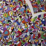 """Easy decision"", 2007, 100 x 120 cm, Acryllack auf Leinwand"