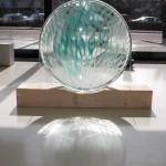 gezeiten ,2010 Ofengeschmolzenes Glas 12cmxØ70cm