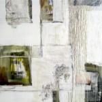 Beyond the Surface, 2005, Acryl auf Leinewand, 150 x 120 cm