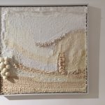 Coral bleaching, Textilobjekt/Assemblage 2019