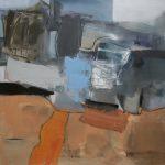 Janos, 100x100 cm, Acryl/Lw, 2020