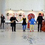 Zerrbild der Verwandlung, Musik/Tanz/Objekte - Performance, 2019