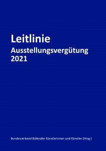 Leitlinie Ausstellungsvergütung 2021