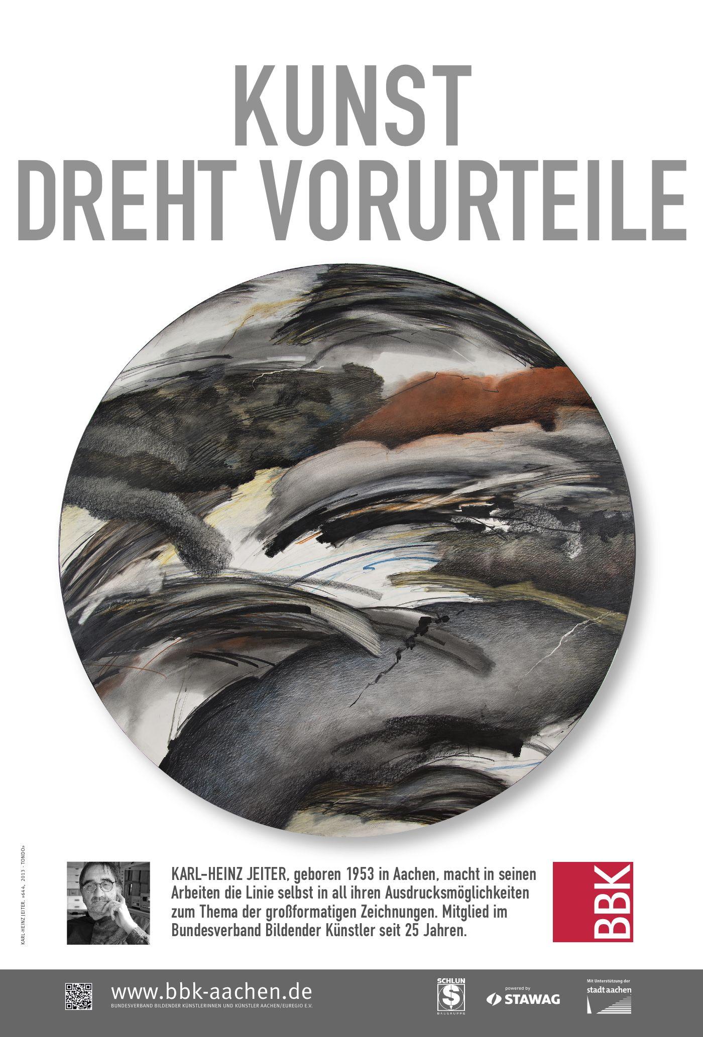 Karl-Heinz Jeiter »644, 2013 - Tondo»
