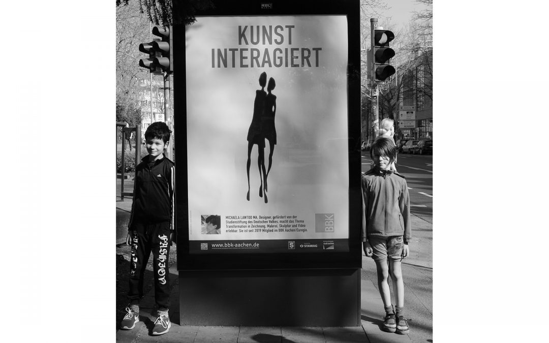 Kunst Anschlag: Kunst Inter-Agiert
