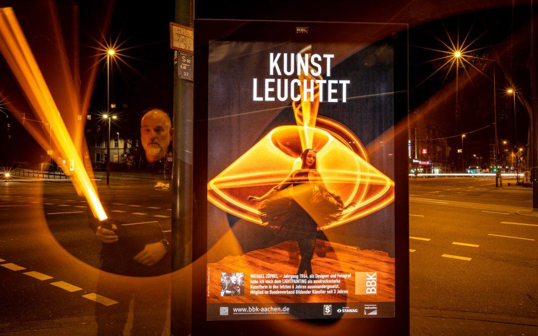 #KunstAnschlag – KUNST LEUCHTET