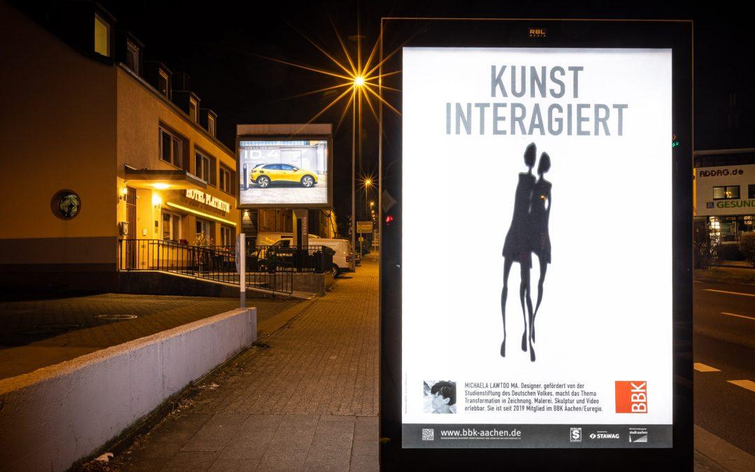 Kunst Inter-Agiert: Noch bis Montag 05.04.2021!