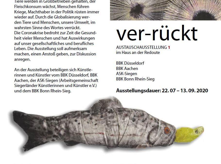 """Impressionen von der Ausstellung """"ver-rückt"""" in Bonn"""